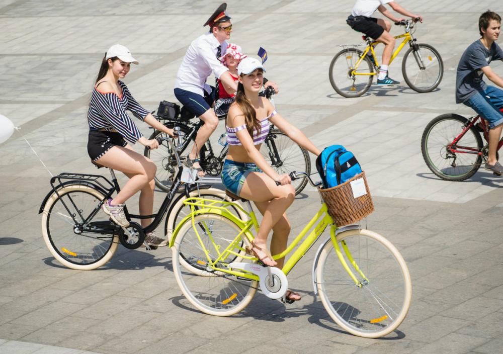 Волжан призывают пересесть на велосипеды