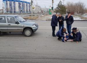 Волжанка получила сильные травмы под колесами Chevrolet Niva