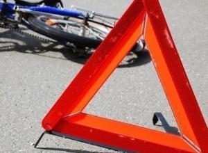 Водитель на полной скорости сбил велосипедиста в Волжском