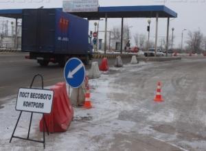 После праздников в Волжском ограничат движение большегрузов