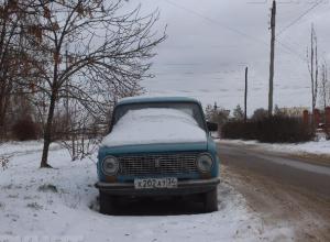 «Подснежники» вдоль дорог мешают расчищать улицы Волжского