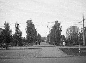 Ретро фильм сняли про Волжский почти 40 лет назад