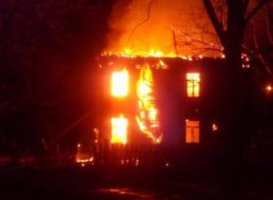 Ранним утром сгорела трехкомнатная квартира в Волжском