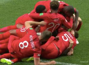 На «Волгоград Арене» англичане забили первый гол