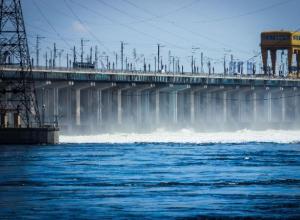 Волжская ГЭС «сбавила обороты»
