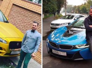 Оба богаты и оба Макаровы: кто из представителей золотой молодежи в Волжском ездит на шикарнейшем авто