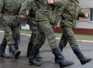 Топтать кирзу отправились 14 юношей из Волжского