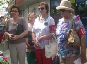 Волжские активисты разогнали уличных торговцев на проспекте Ленина