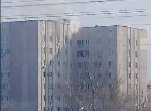 В волжской многоэтажке вспыхнула квартира
