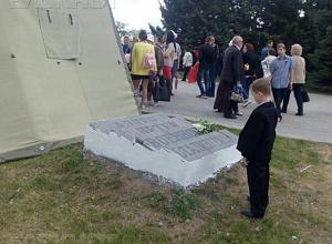 У памятника погибшим воинам в Волжском зажгут лампады в память о массированной бомбардировке Сталинграда