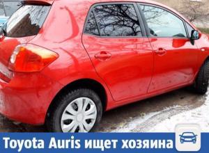 Красную красотку Toyota Auris срочно продают в Волжском
