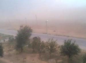 Неожиданный ураган создал иллюзию апокалипсиса в Волжском