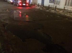 Ровное дорожное полотно и благоустройство тротуаров пообещали власти Волжского в 2017 году
