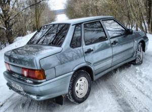 Водитель на «пятнашке» перевернулся на дороге «Быково-Волжский»