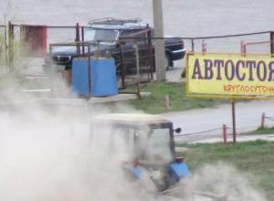 Голливудский блокбастер со спецэффектами устроили коммунальщики Волжского во время уборки
