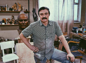 Самую эротическую работу у меня украли на выставке, - волжский скульптор Сергей Щербаков