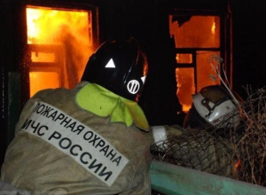 37-летний мужчина пострадал в огне в Краснослободске