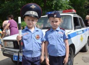 Семь интерактивных площадок подготовили для юных полицейских в Волжском