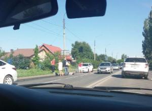 Пешеход пострадал под колесами иномарки в Волжском