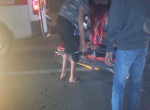 Пенсионер-камикадзе попал под колеса авто на острове Зеленый в Волжском
