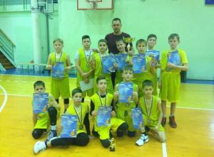 Волжские баскетболисты завоевали бронзу во Всероссийском турнире