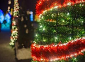 В Волжском выбрали лучший новогодний дворик