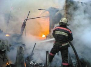 Под Волжским пожилой курильщик устроил пожар, который стоил ему жизни