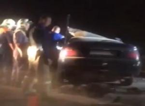 Появилось видео смертельной аварии на новом мосту через Ахтубу