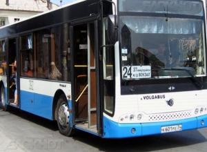 В Волжском решили поменять маршрут автобуса №24