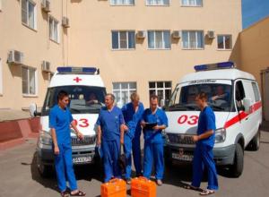 Каждый третий житель Волгоградской области вызывал «скорую»