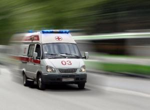 Автоледи на дорогой иномарке подрезала встречного водителя под Волжским