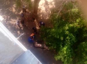 Под моими окнами лежит труп мужчины с повреждениями, - волжанка