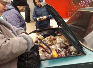 Нелегальных уличных продавцов в Волжском оштрафовали на четыре тысячи рублей