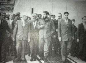 Легендарный Фидель Кастро тайно посещал Волжский в шапке-ушанке