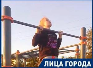 Хочу подтягиваться 25 раз, - молодая спортсменка в Волжском