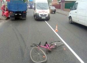 Пожилой лишенник на «Газели» сбил школьницу на велосипеде в Волжском