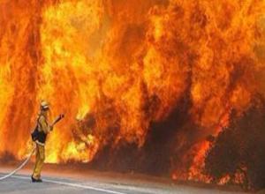 Два крупных пожара сожгли 53 квадратных метра площади за Волжским