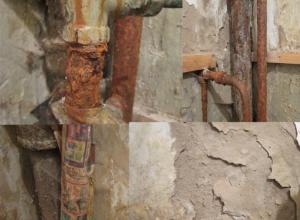 Жуткое зрелище: УК общаги в Волжском плюнула на разваливающийся дом, в котором живут люди