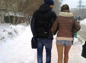 Видеоблогер обвинил волжанок в том, что они ходят голыми зимой