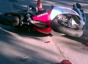 В Волжском сбили 32-летнего байкера на Yamaha