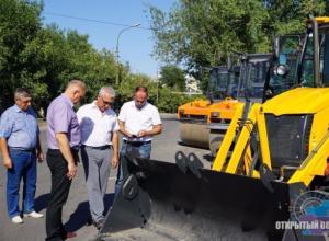 В муниципальном технопарке прибыло: в Волжский доставили новый транспорт