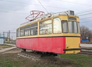 В Волжском полвека назад запустили первый трамвай
