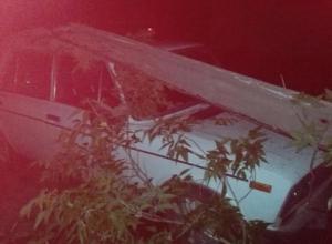 Пьяный волжанин снёс бетонный столб на своем автомобиле