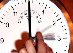 Законопроект о переводе часов в Волгоградской области одобрили без Правительства РФ