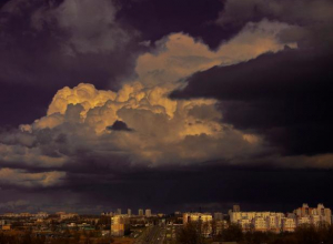 День Октябрьской революции в Волжском будет облачным