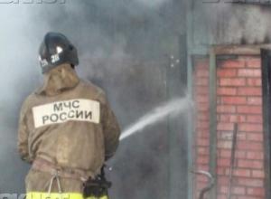 Труп 40-летнего мужчины нашли после пожара в Среднеахтубинском районе