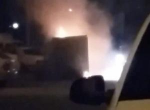 Новая традиция: волжане устроили пожар посреди двора в Старый Новый год