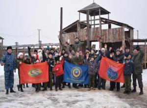 Патриотические молодежные клубы Волжского встретились для дружеского состязания