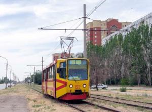 Работу трамваев решили приостановить на один день в Волжском