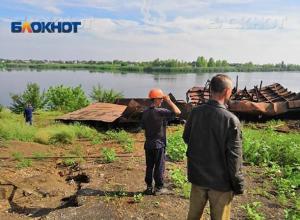 Пять лет принудительных работ или тюрьмы «светит» виновнику взрыва на барже в Волжском